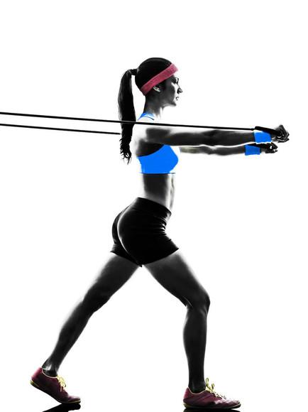 Резинка для фитнеса: упражнения для ног и ягодиц - Школа