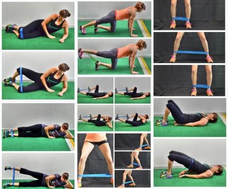 Новая тренировка с фитнес-резинкой - фитнес, фитнес
