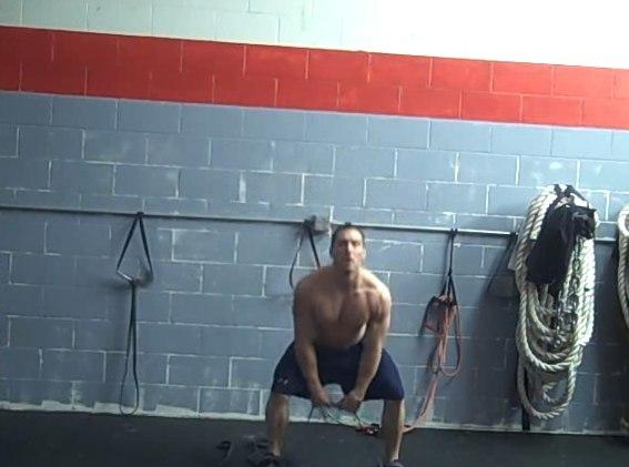 Изображение - Упражнения с резиной для плечевого сустава tyaga-zhguta-k-podborodku
