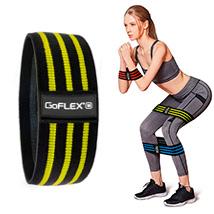 Резинка для фитнеса Hip Bands GoFLEX Strap S