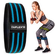 Резинка для фитнеса Hip Bands GoFLEX Strap L