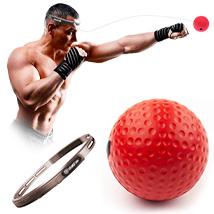 Мяч для бокса на резинке Fight Ball HVAT